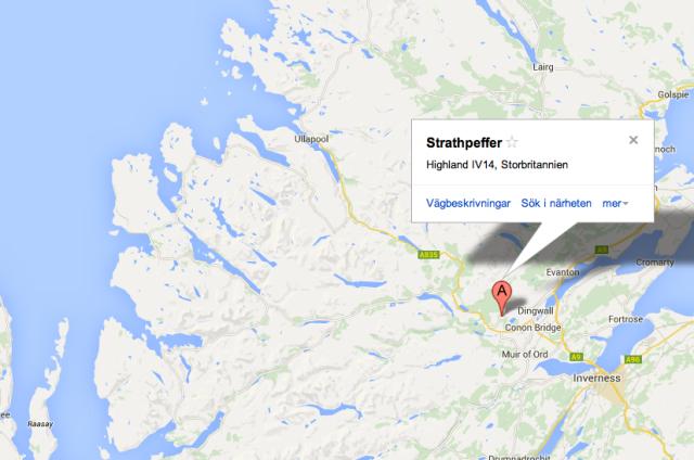 MapStrathpeffer